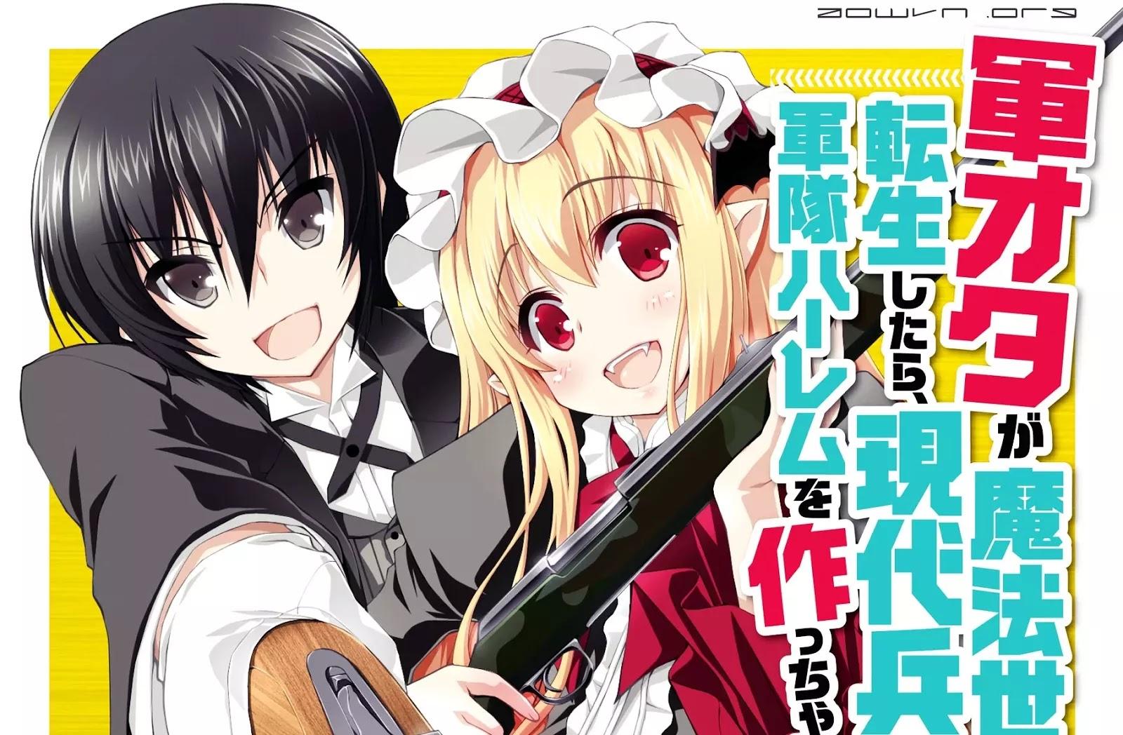aowvn - Gunota ga Mahou Sekai ni Tensei Shitara | Manga Online