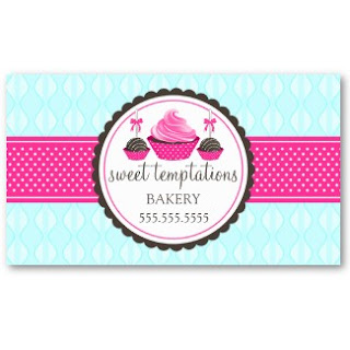 Business Card Showcase By Socialite Designs Cupcake And Cake Pops