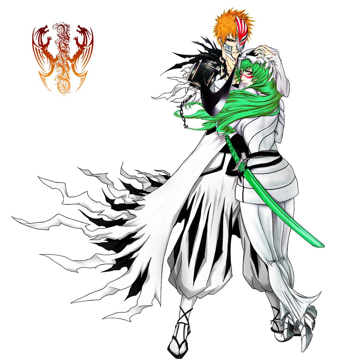 render ICHIGO AND NELLIEL