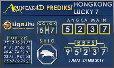 PREDIKSI TOGEL HONGKONG LUCKY7 PUNCAK4D 24 MEI 2019