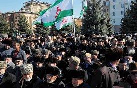 как в Ингушетии задерживали лидеров протестов в Магасе