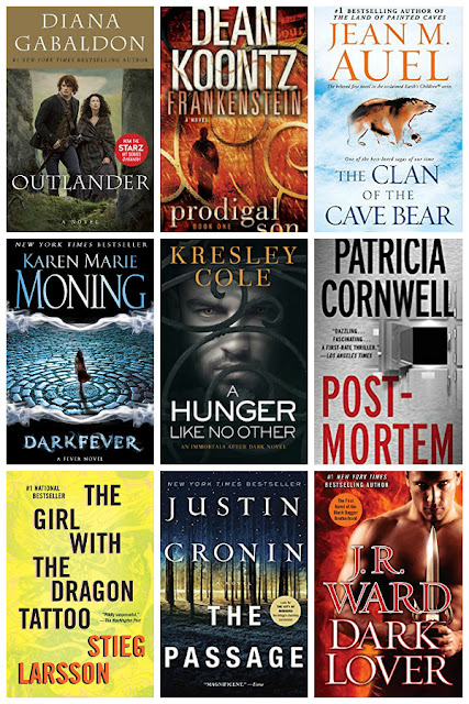 9 Book Series to add to your reading list!