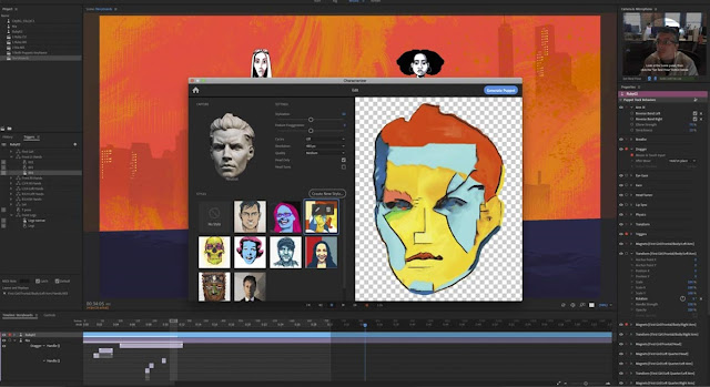 Adobe Characterizer turns you into an animated drawing with the power of AI