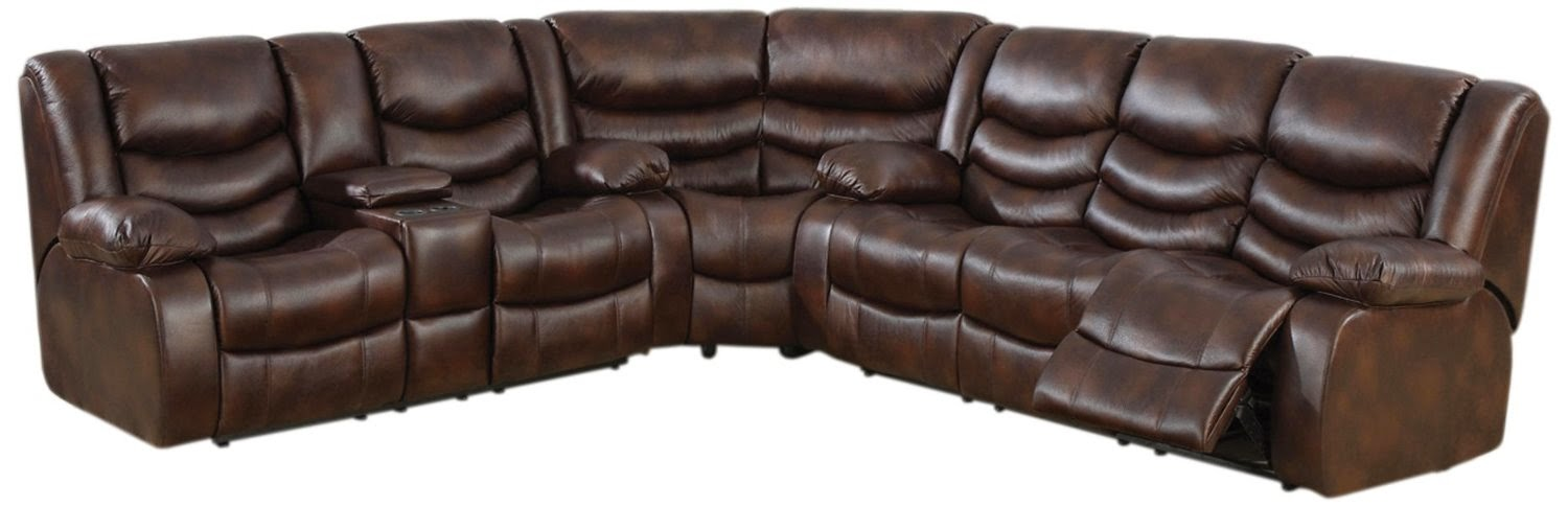 Sofa Reviews Loukas Leather Reclining Sectional Sofa With Reclining