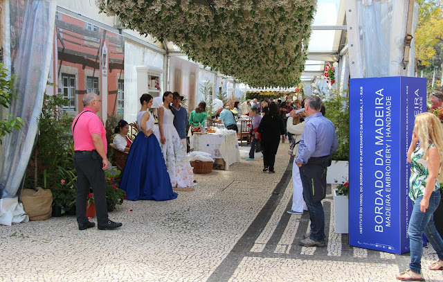 Madeira embroidery shines in Flower Festival