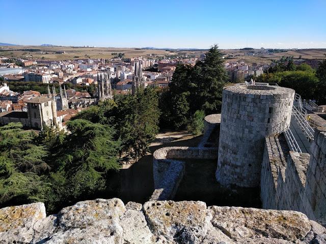 Vista de Burgos desde el Castillo