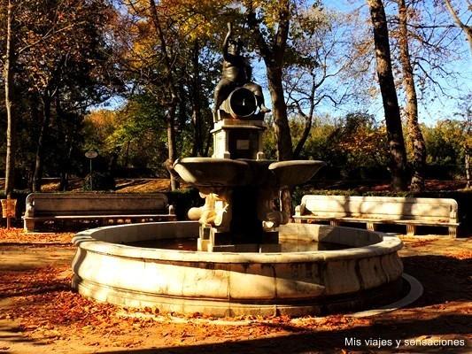 Fuente de Baco, Jardín de la Isla, Aranjuez