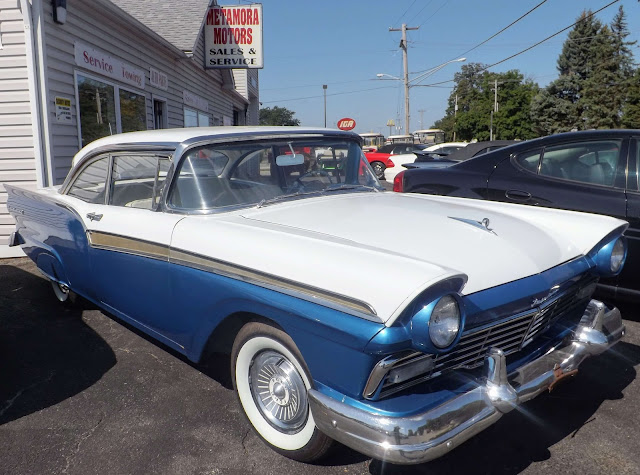 Hot On the Lot: 1957 Ford Fairlane, Metamora Herald