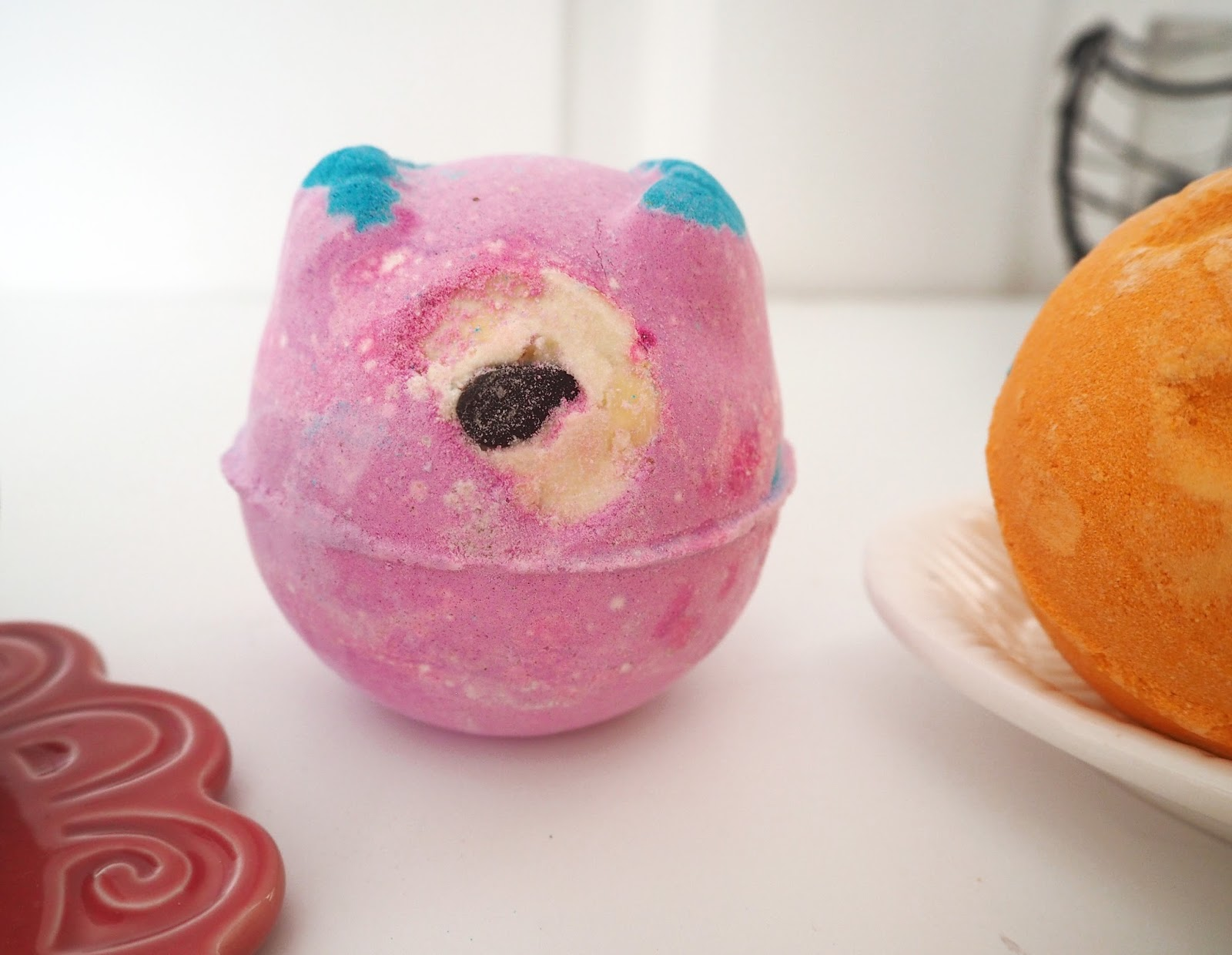 Lush Halloween Collection 2016, Katie Kirk Loves, Monsters Ball Bath Bomb, Beauty Blogger, Bath Products, Lush UK
