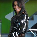Andrea Rincon, Selena Spice Galeria 5 : Vestido De Latex Negro Foto 147