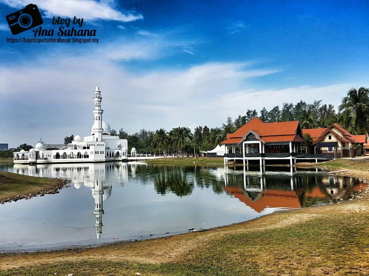 Jalan-jalan di Terengganu : Masjid Terapung @ Masjid Tengku Tengah Zaharah