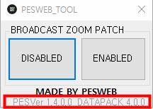 PES 2019 Broadcast Camera ZOOM Disabler Ver. 1.4.0.0 / DATAPACK 4.0.0