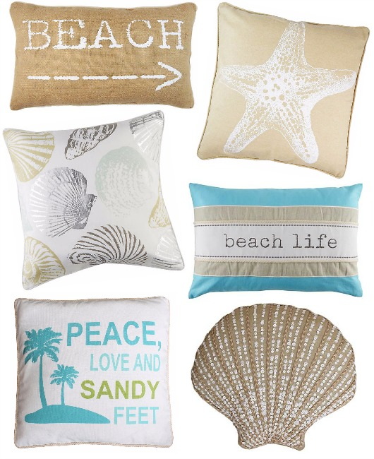 Beach Pillows Under $20 from Bealls