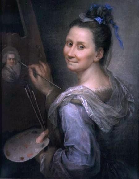 Autoportrait (1720), Giovanna Fratellini