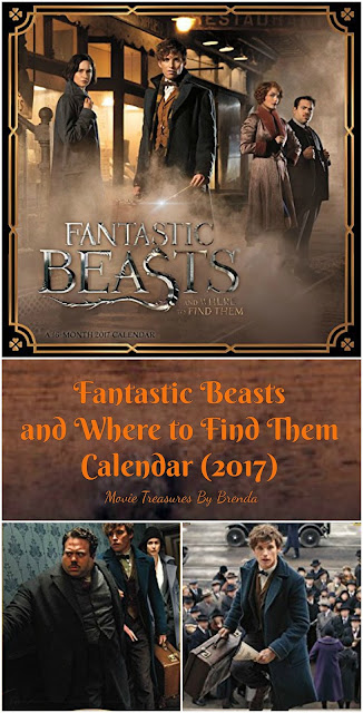 Fantastic Beasts and Where to Find Them Calendar (2017)
