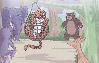 harimau yang sombong