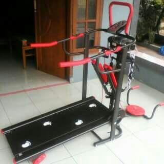 Treadmill Manual TL-004 Alat Olahraga Jogging