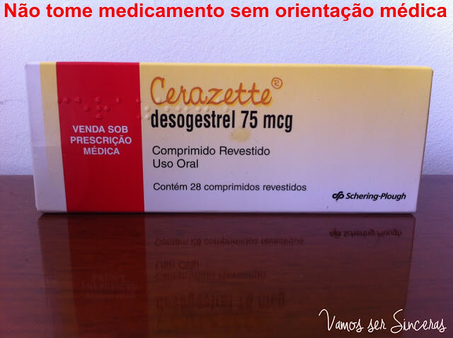 Cerazette 75 mcg para que serve