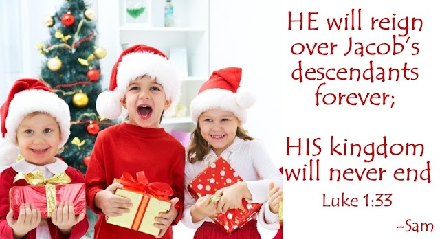 Kids Christmas Gifts Greetings