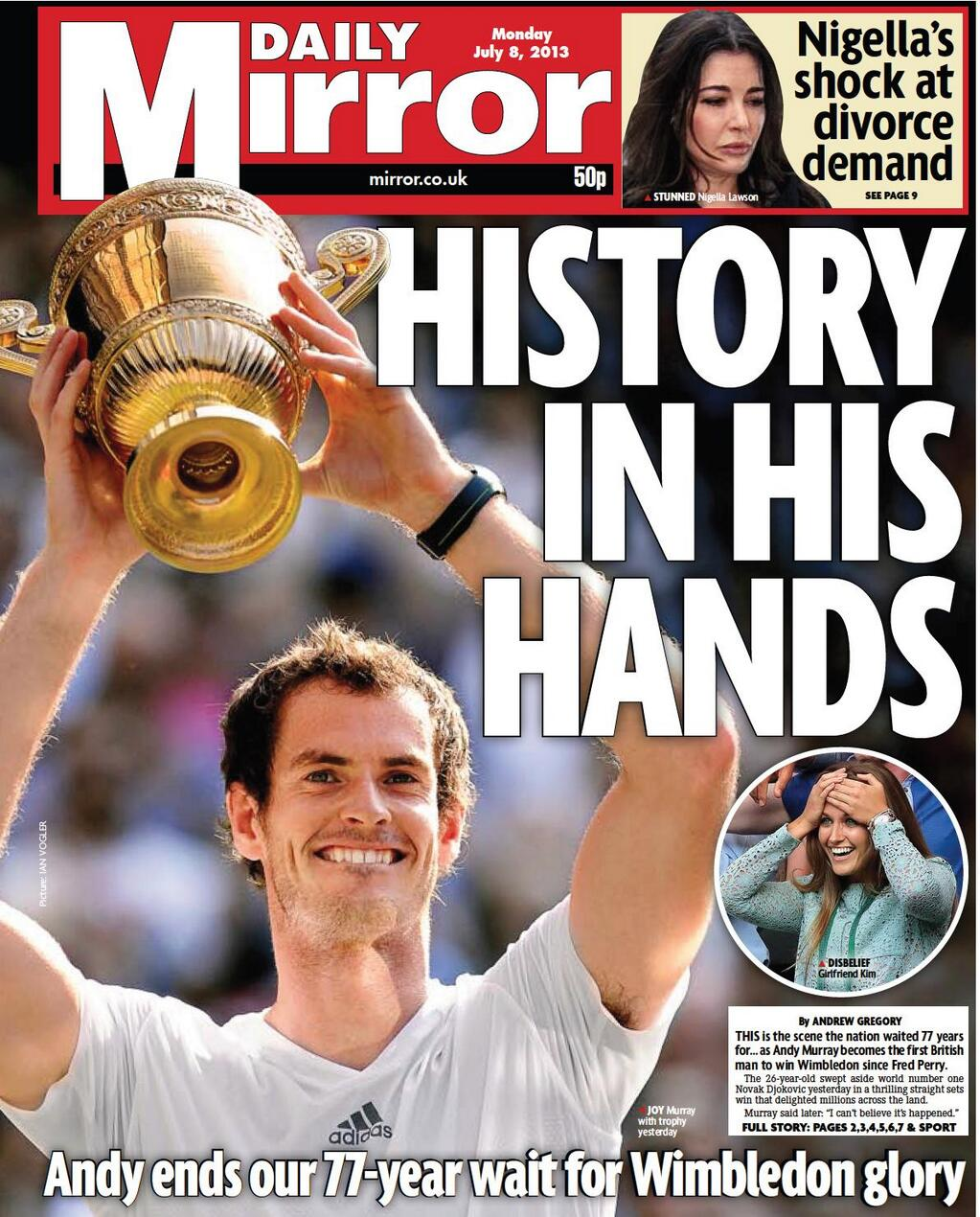 Sands Media Services: Murray: some mint front pages