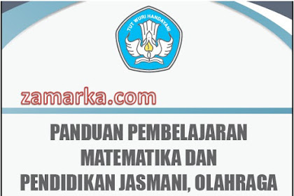Download Panduan/ Cara Pembelajaran Matematika dan PJOK SD/ MI Kurikulum 2013 Revisi Terbaru
