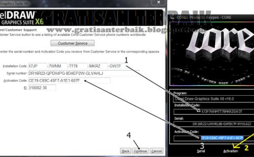 Coreldraw graphics suite x6 keygen + instruction
