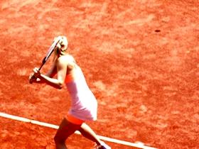 tennis, fft, sharapova, maria, wta, tournoi, roland, garros, muguruza, williams, halep, tsonga, mladenovic, serena, mannequin, top, model