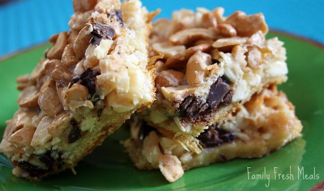 Gooey Chocolate Nut Bars