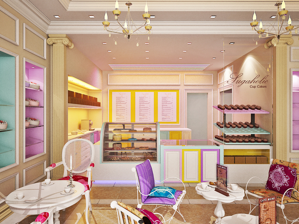 Bizzy Oven Mitt Bakery: Bakery Interiors