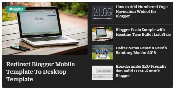Cara Memasang Featured Post Image Slider untuk Blogger Cara Memasang Featured Post Image Slider untuk Blogger