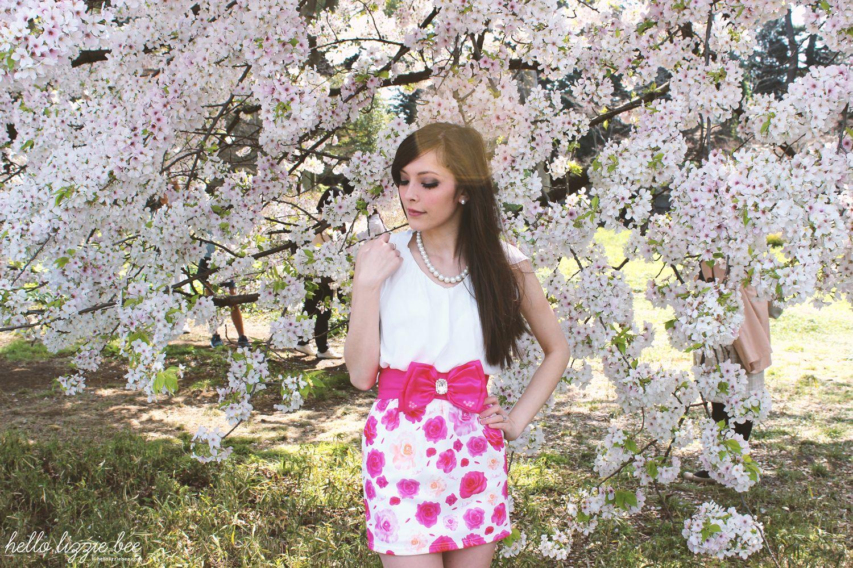 cherry blossoms, favourite gyaru outfit, agejo gyaru