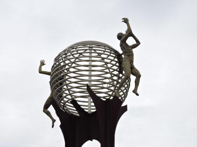 antorcha olímpica bello unidad deportiva plazoleta de los heroes