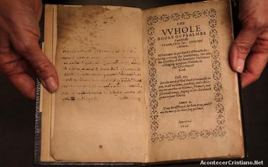 Libro antiguo de los Salmos