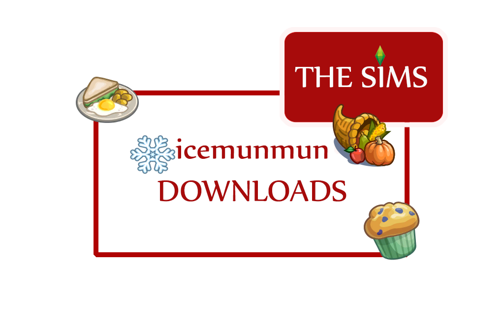 icemunmun's sims 4 downloads