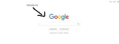 google with css