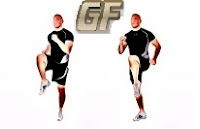 Cara mengecilkan perut buncit dengan high knee