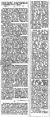 U.F.O. Files The Untold Story By Partick Huyghe (Pt 4A) - New York Times (10-14-1979)