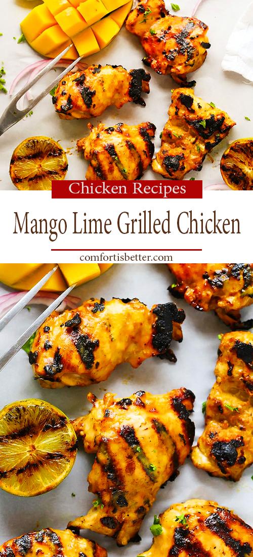 Mango Lime Grilled Chicken - Best Recipe