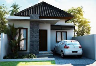 Minimalist House Design With A Car Garage