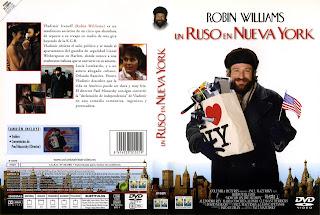 Carátula dvd: Un ruso en Nueva York - (Descargar)
