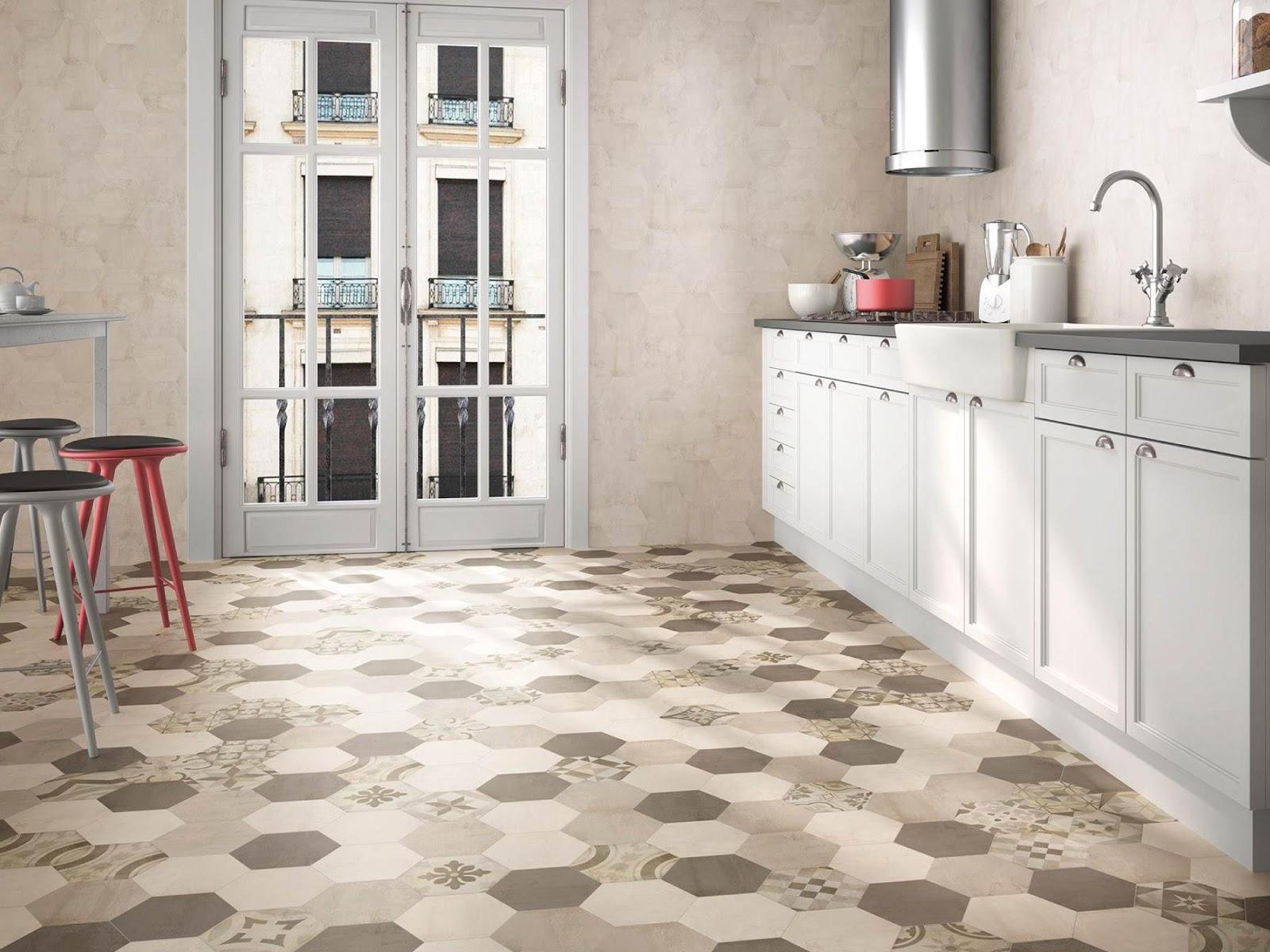 Interiores y 3d tipos de suelo para cocinas for Baldosas cocina