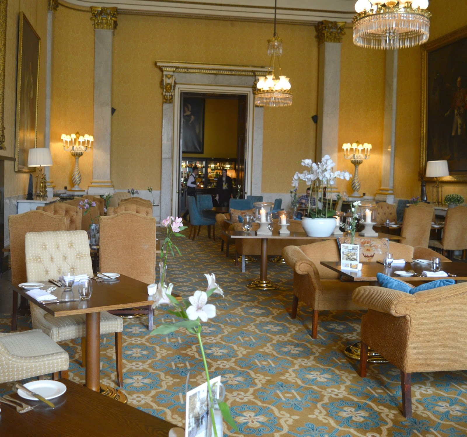 Sunday Lunch at Wynyard Hall - Wellington Restaurant