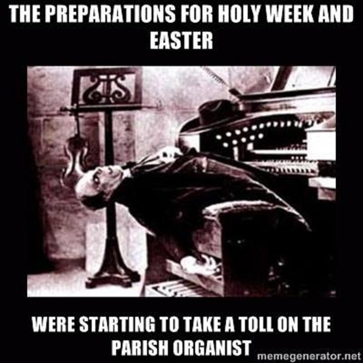 Holy%2BWeek episcopal church memes