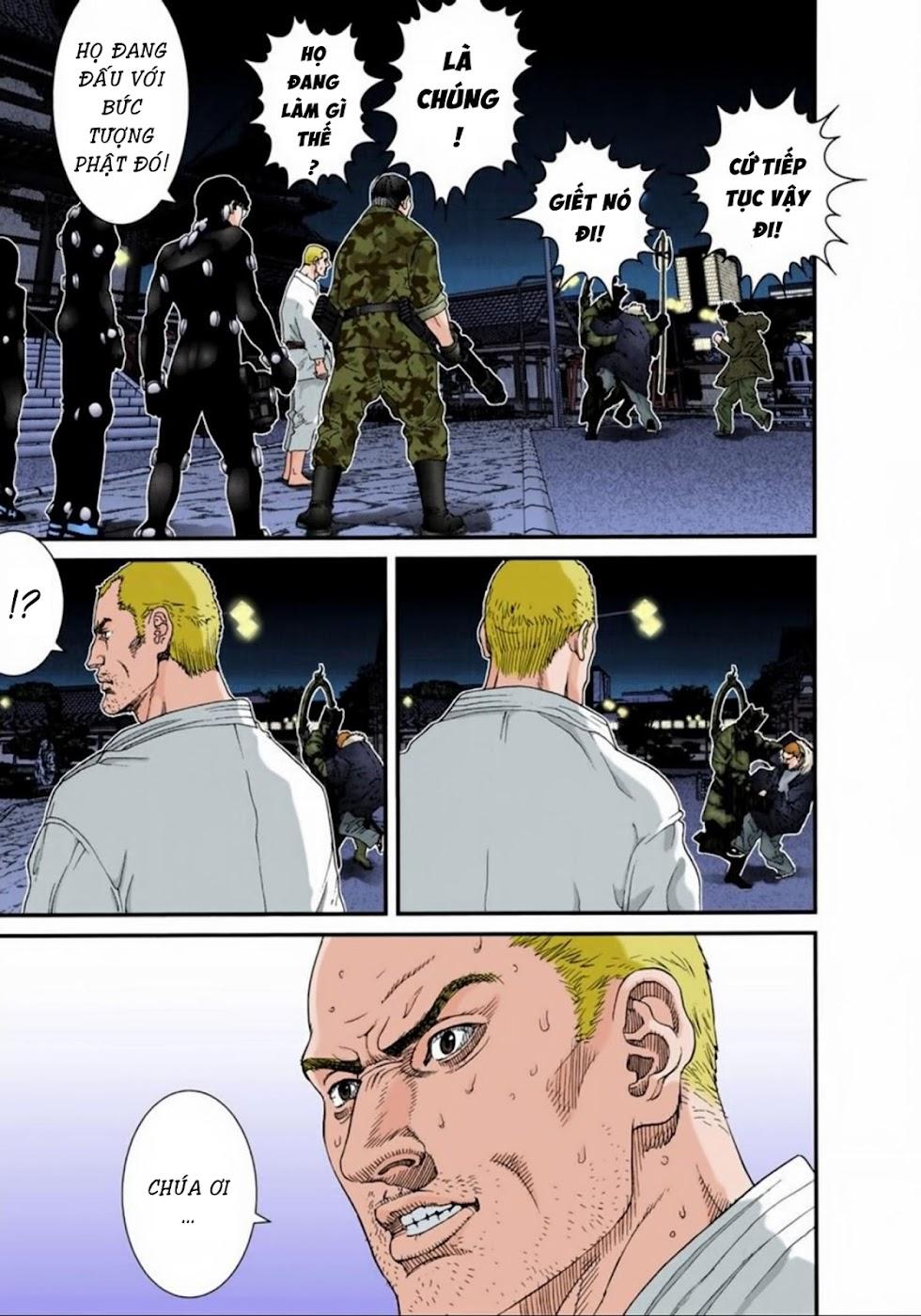 Gantz Chap 68: Đổ bộ trang 9