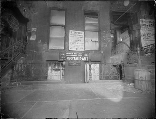 Restaurant Exterior Morris Belaief Ekaterinoslaver 204 1916 1920