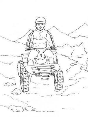 Kd quad rando occupez vos enfants dessins de quad colorier - Quad a colorier ...