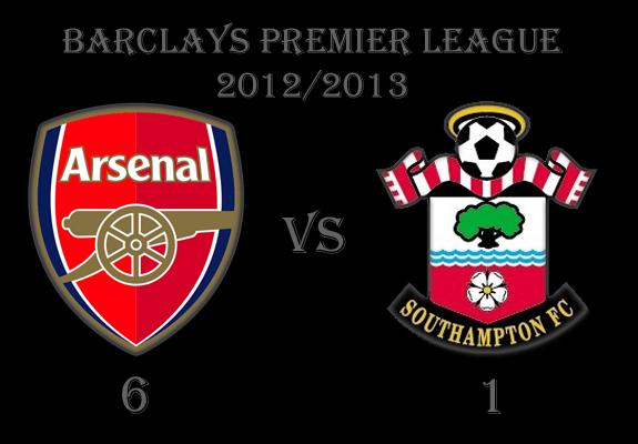 BBC Football: Results >> Arsenal (6) vs (1) Southampton ...