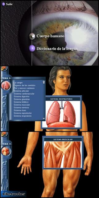 CD-ROM Interactivo para que los más pequeños aprendan anatomía
