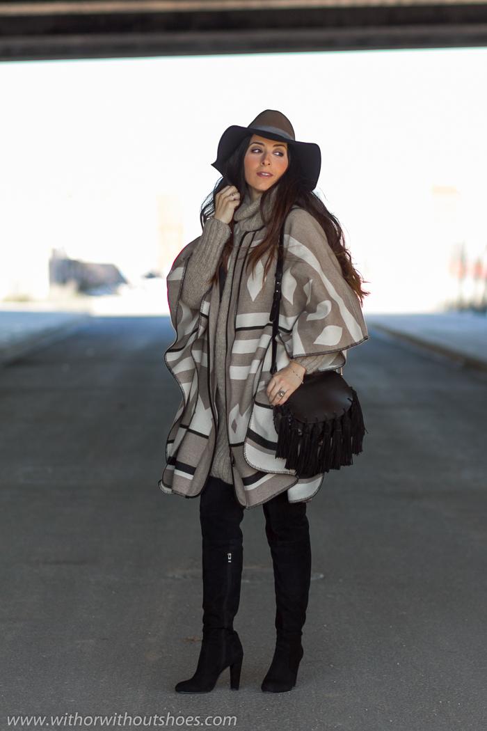 Blogger con ideas para vestir estando embarazada con ropa de Zara