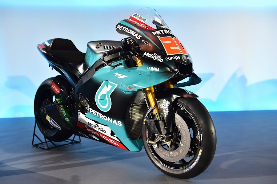 Fabio Quartararo Petronas Yamaha SRT 2019